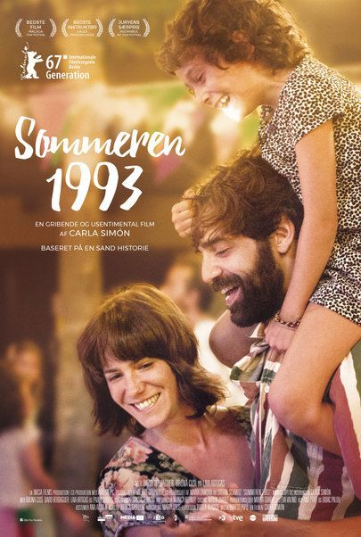 "Movie poster for ""SOMMEREN 1993"""