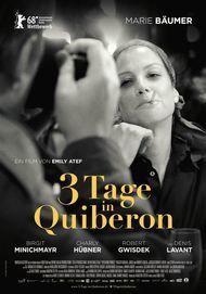 """Affiche du film """"3 JOURS A QUIBERON"""""""