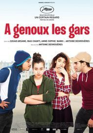"""Movie poster for """"A GENOUX LES GARS"""""""
