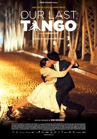 "Movie poster for ""OUR LAST TANGO"""