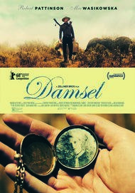 "Movie poster for ""DAMSEL"""