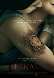"Movie poster for ""FERAL"""