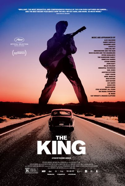 """Movie poster for """"THE KING"""""""