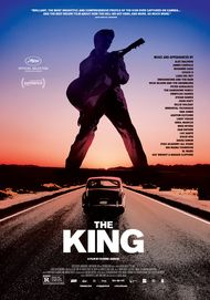 "Movie poster for ""THE KING"""