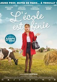 "Movie poster for ""L'ECOLE EST FINIE"""