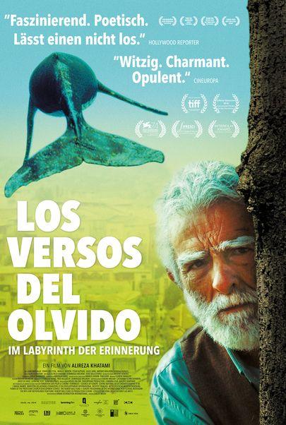 """Filmplakat für """"Los Versos del Olvido - Im Labyrinth der Erinnerung"""""""