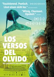 "Movie poster for ""Los Versos del Olvido - Im Labyrinth der Erinnerung"""