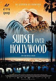 "Filmplakat für ""Sunset over Hollywood"""