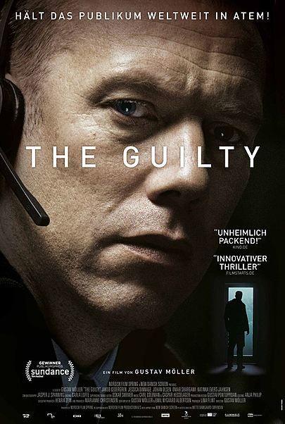 "Filmplakat für ""The Guilty"""