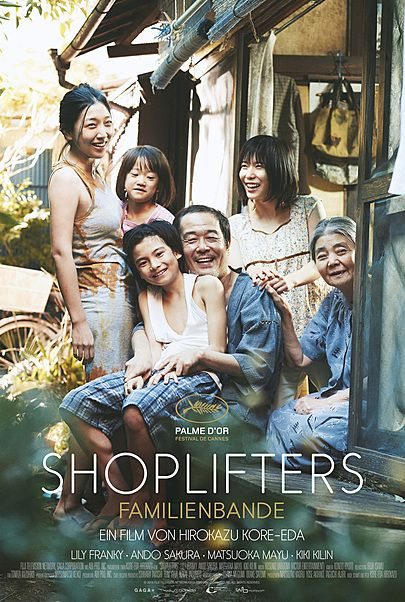 """Movie poster for """"SHOPLIFTERS"""""""