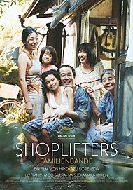 """Filmplakat für """"Shoplifters - Familienbande"""""""