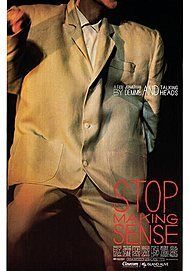 "Movie poster for ""STOP MAKING SENSE (2K REMASTERED)"""