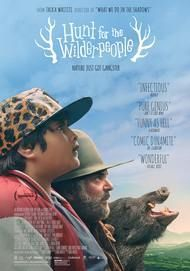 "Movie poster for ""HUNT FOR THE WILDERPEOPLE"""