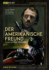 """Filmplakat für """"Der amerikanische Freund"""""""