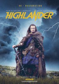 """Filmplakat für """"Highlander - Es kann nur einen geben"""""""