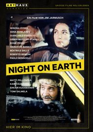 """Filmplakat für """"Night On Earth"""""""