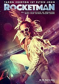 "Movie poster for ""ROCKETMAN"""