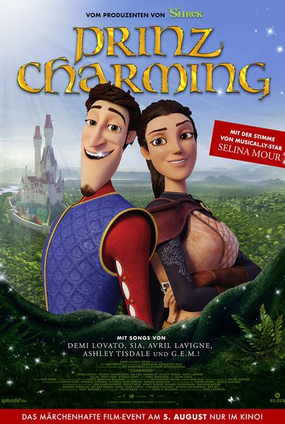 "Movie poster for ""Charming"""
