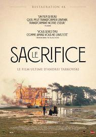 """Affiche du film """"LE SACRIFICE"""""""
