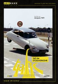 "Filmplakat für ""Trafic - Tati im Stoßverkehr"""