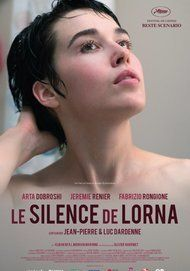 "Movie poster for ""Le silence de Lorna"""