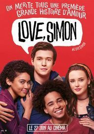 "Movie poster for ""LOVE, SIMON"""