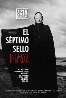 "Movie poster for ""THE SEVENTH SEAL"""