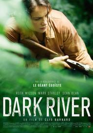 "Movie poster for ""DARK RIVER"""