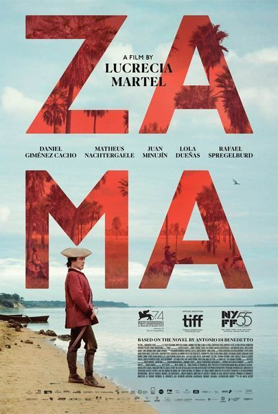 "Movie poster for ""ZAMA"""