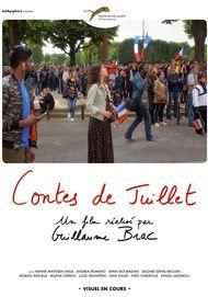 "Movie poster for ""CONTES DE JUILLET"""