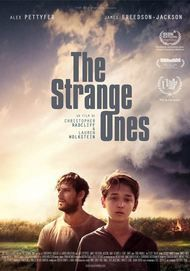 "Movie poster for ""THE STRANGE ONES"""