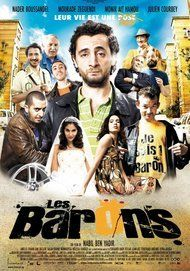 "Movie poster for ""LES BARONS"""