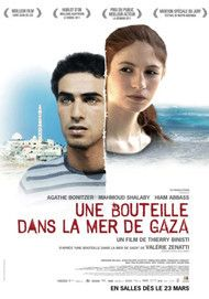 "Movie poster for ""UNE BOUTEILLE A LA MER"""