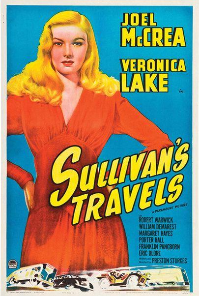 """Filmplakat für """"Sullivans Reisen"""""""