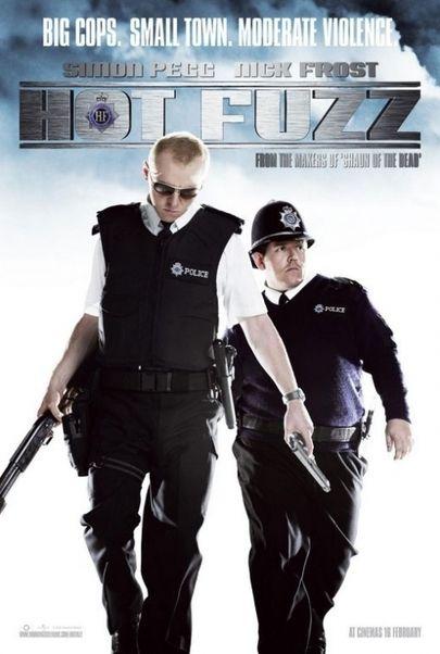 """Filmplakat für """"Hot Fuzz - Zwei abgewichste Profis"""""""