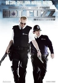 "Movie poster for ""Hot Fuzz"""