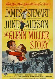 """Filmplakat für """"Die Glenn Miller Story"""""""