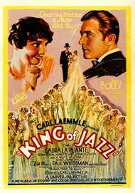 "Filmplakat für ""King of Jazz"""