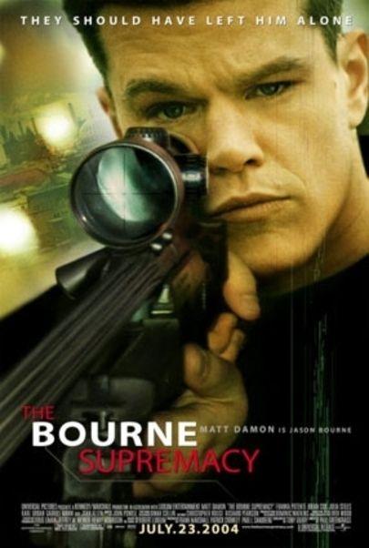 """Filmplakat für """"Die Bourne Verschwörung"""""""