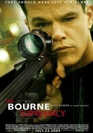 "Movie poster for ""The Bourne Supremacy"""