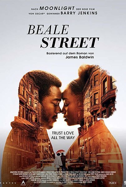 """Movie poster for """"IF BEALE STREET COULD TALK"""""""