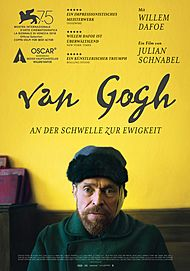 """Filmplakat für """"Van Gogh - An der Schwelle zur Ewigkeit"""""""