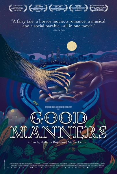 """Movie poster for """"GOOD MANNERS"""""""