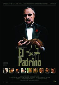 """Movie poster for """"THE GODFATHER"""""""