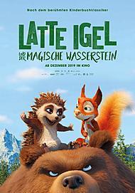 """Filmplakat für """"LATTE IGEL UND DER MAGISCHE WASSERSTEIN"""""""