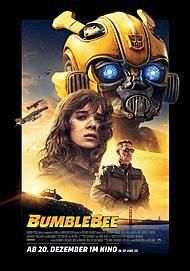 "Movie poster for ""BUMBLEBEE"""