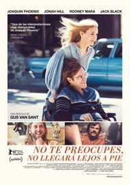 "Movie poster for ""DON'T WORRY HE WON'T GET FAR ON FOOT"""