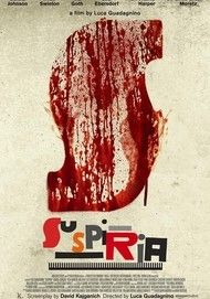 "Movie poster for ""SUSPIRIA"""
