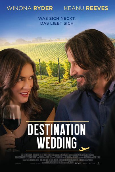 "Movie poster for ""Destination Wedding"""