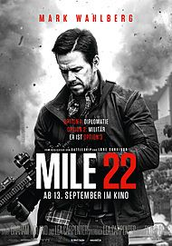 """Filmplakat für """"MILE 22"""""""
